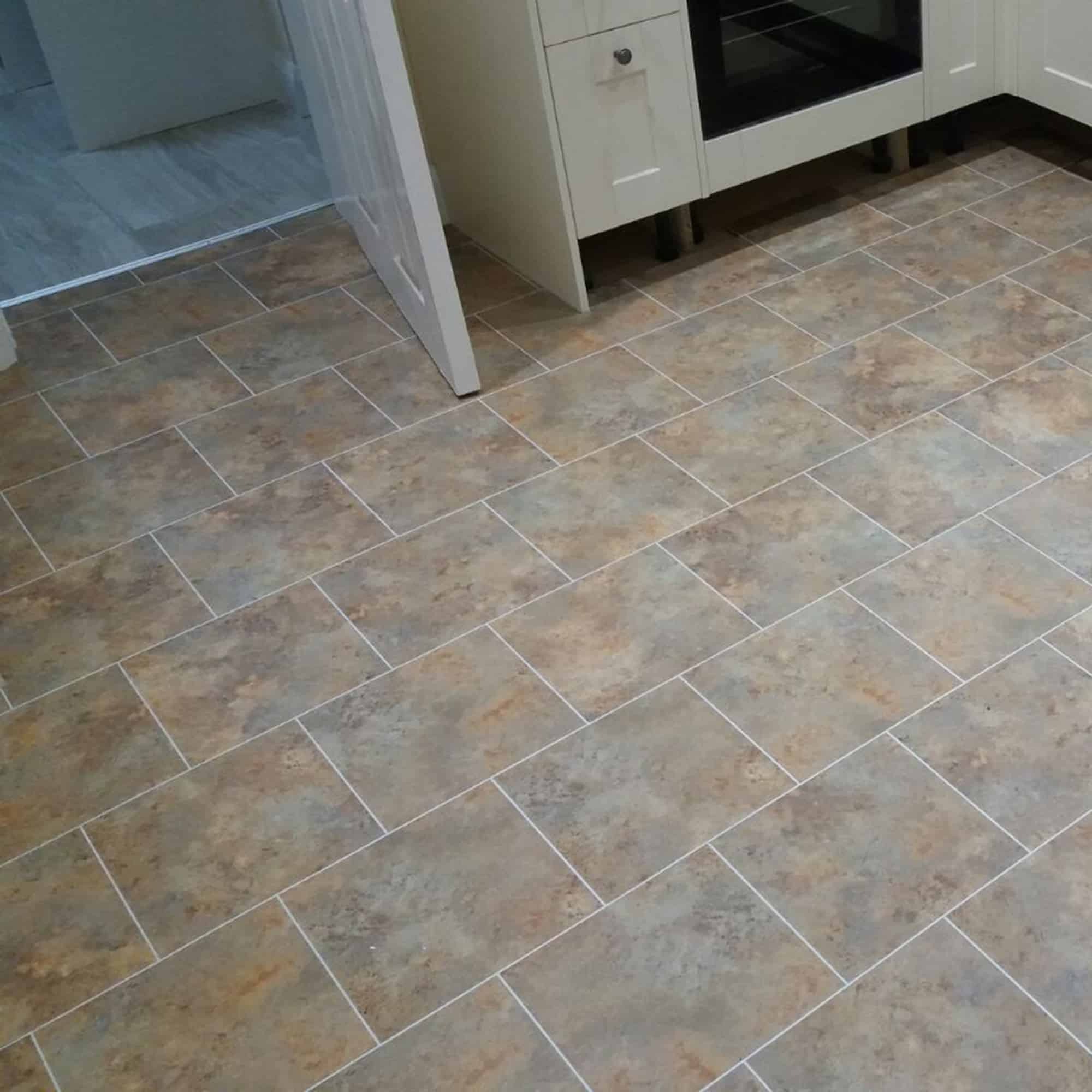 LVT Flooring in stone effect